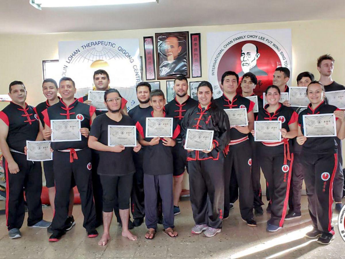 Graduación de Alumnos del Centro de Artes Marciales Sheng Long
