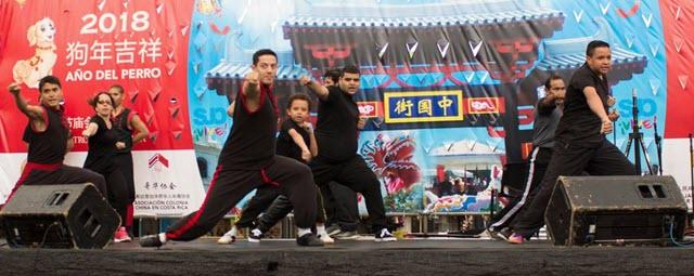 Kung Fu Choy Lee Fut  Año Nuevo Chino 2018